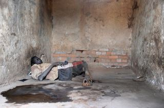 A Chained Prisoner in Rumbek, South Sudan