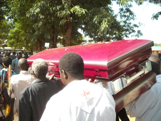 Isaiah Diing Abraham Chan Awuol Chan would be buried on Monday, Decemeber 10th, 2012, at his ancestral home of Kongor
