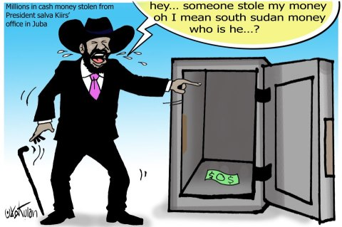 April Fool? The 6 millions is not stolen; rather it has been successfully recovered from the real thief.