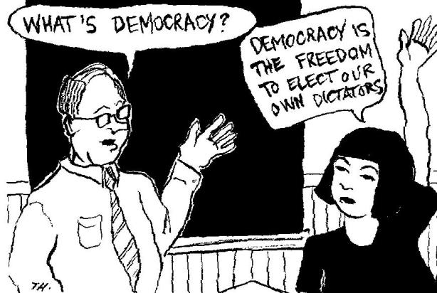 Demo-cracy or Demo-crazy?