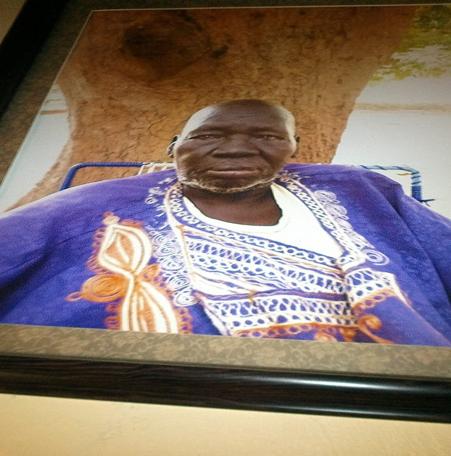 Paramount Chief Ayii Madut Ayii of Rek Dinka, Kuac community of Warrap State, South Sudan