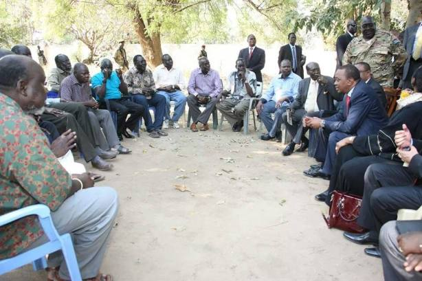The Eleven Detainees, SPLM top party officials detained in the wake of the 15 December 2013 Juba Mutiny