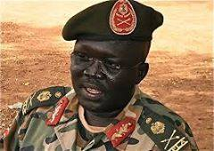 Gen. Mach Paul Kuol Awar, South Sudan Director for Military Intelligence