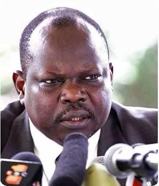 Pagan Amum, former SG of the SPLM