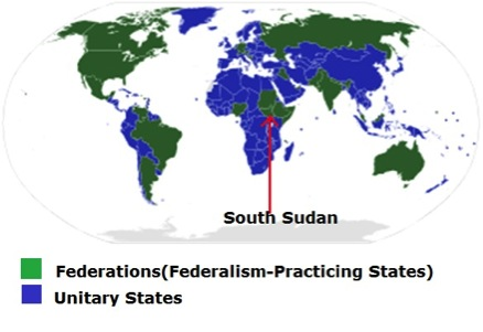 Is South Sudan already a federal state? Is the current call for federalism a pretext for confederation?