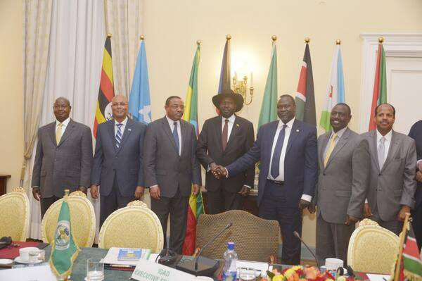 COMMUNIQUE OF THE 26th  EXTRAORDINARY SESSION OF  THE IGAD ASSEMBLY OF HEADS OF STATE AND GOVERNMENT  ON THE SITUATION IN SOUTH SUDAN