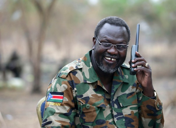 Riek Machar Teny, the armed rebel leader