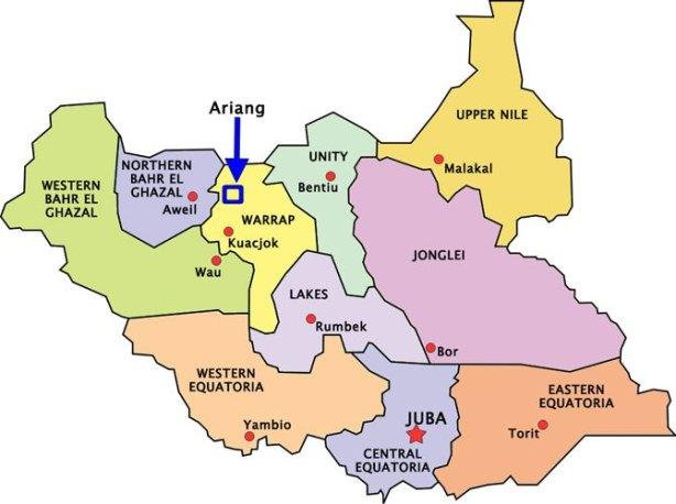 south sudan, state headquarters