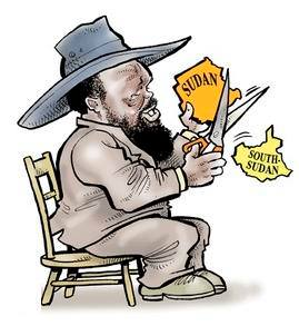 Bany Kiir Mayaardit in his sginature cowboy hat