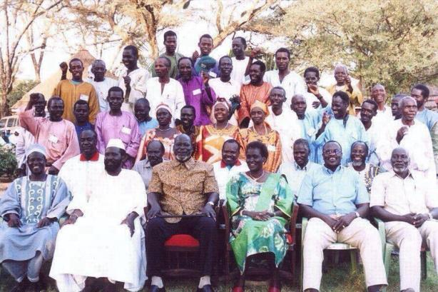 in the company of Dr. John Garang: once upon a time, we were united.