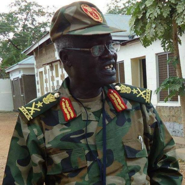 Elijah Malok Aleng, war veteran of both Anyanya one and the SPLM/A, former MP of Twic East in the 1980s, and the first Governor of the Central Bank of South Sudan