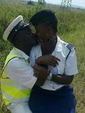 police in love