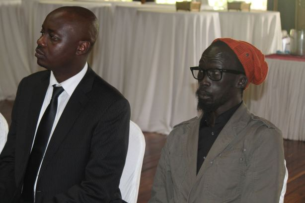 The late Fidel Raila Amolo Odinga and Mabioor Garang de Mabioor