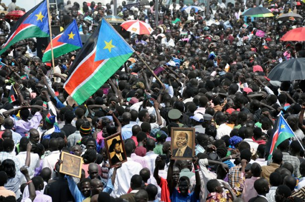 Independence day celebration in Juba, South Sudan