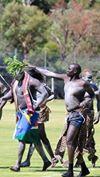 Bor Dinka Wrestling in Australia