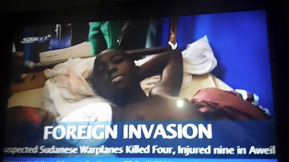 underage girl shown naked on SSTV