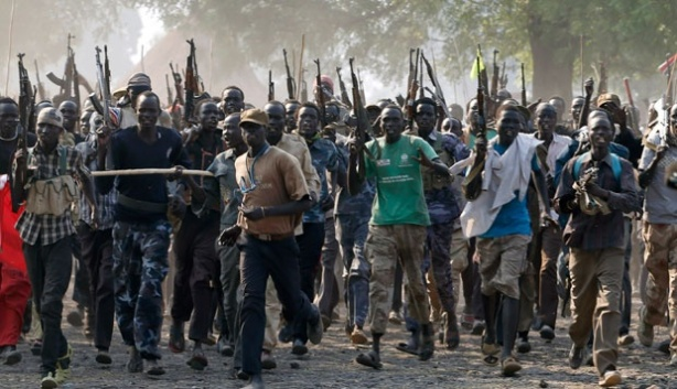 South Sudan Rebels: Nuer White Army Fighters