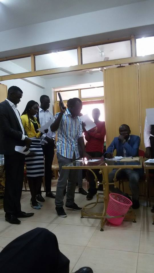 RUMBEK YOUTH UNION, swearing in ceremony