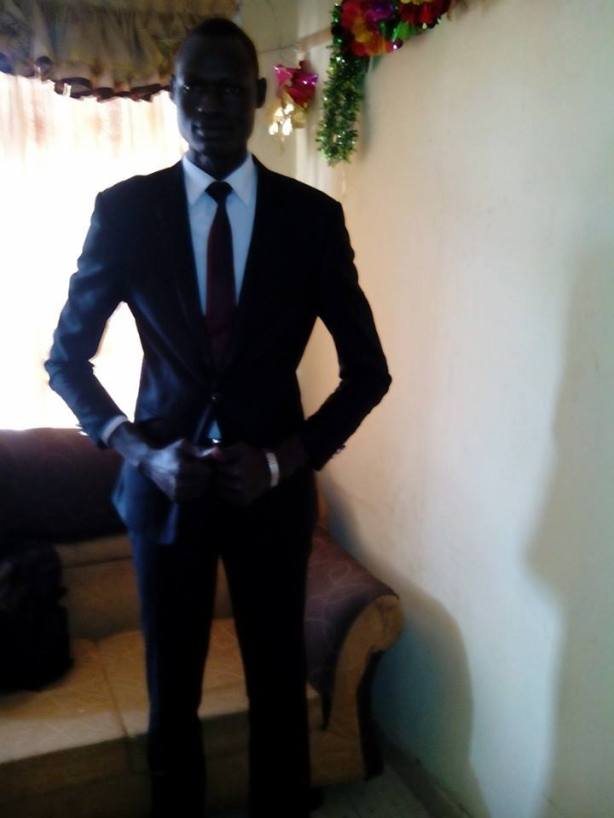 Dut-machine De Mabior, South Sudanese student of Electrical and Electronics Engineering at Kenyatta University, Nairobi, Kenya.