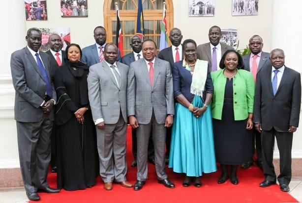 G-10 with President Uhuru of Kenya in Nairobi, June 25, 2015