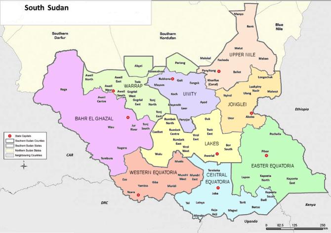 South Sudan Ethnic based States PaanLuel Wl Media Ltd South Sudan