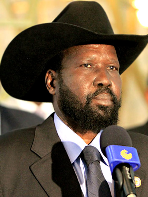 H.E. President Salva Kiir Mayardit, Co-Founder of SPLM/A