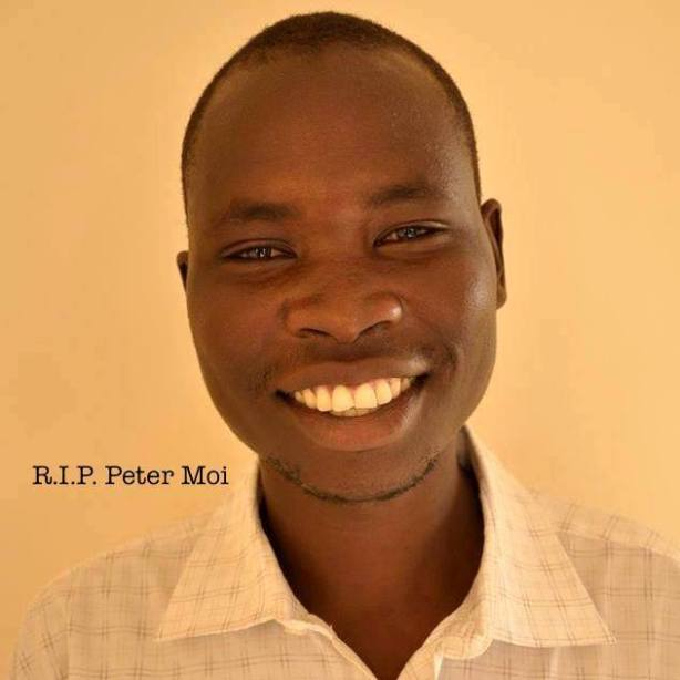 Rest Peace Peter Julius Moi. The unknown gunmen have taken your young life