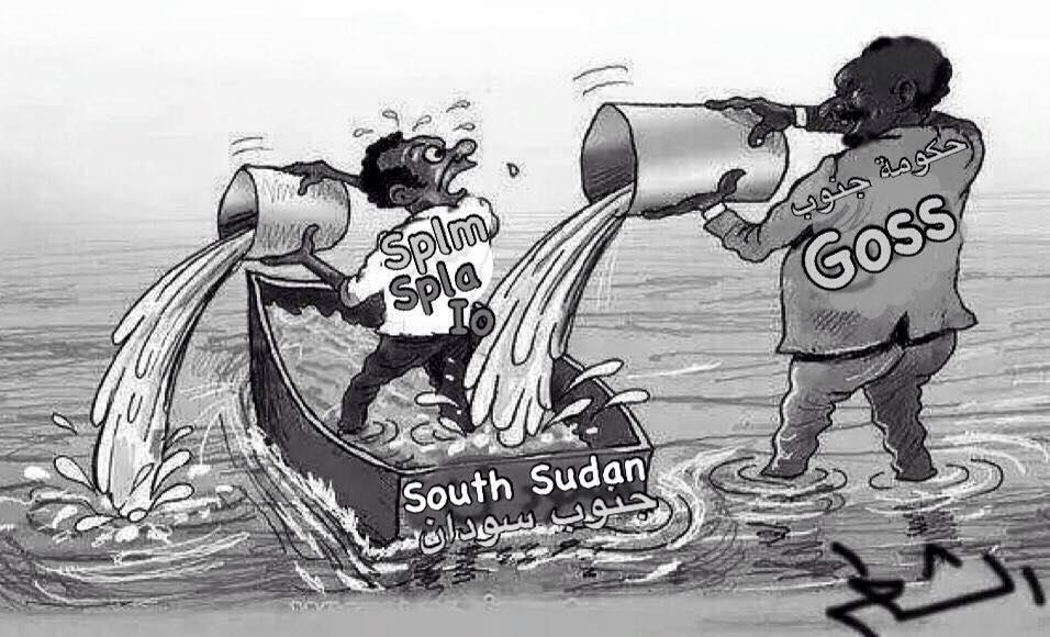 The problem of South Sudan?
