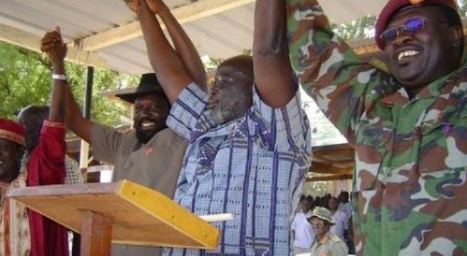 Garang, Kiir, Riek and Wani