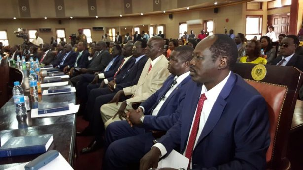 28 governors swearing in ceremony in Juba
