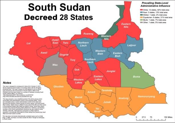 decreed 28 states