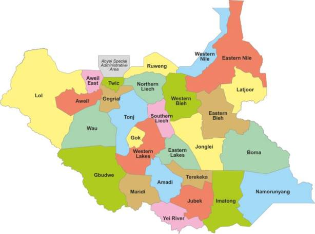 10, 21 or 28 states for South Sudan: Genesis and the way forward ...