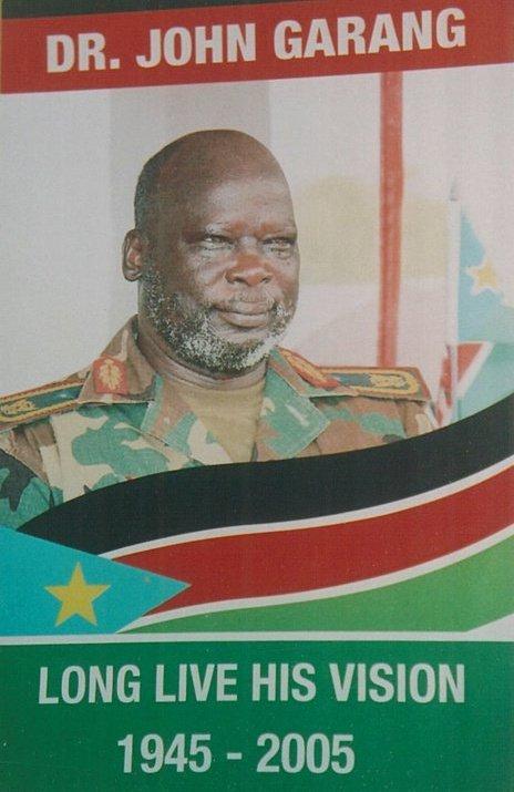 The Late SPLM/A Leader, Dr. John Garang de Mabioor Atem Aruai.