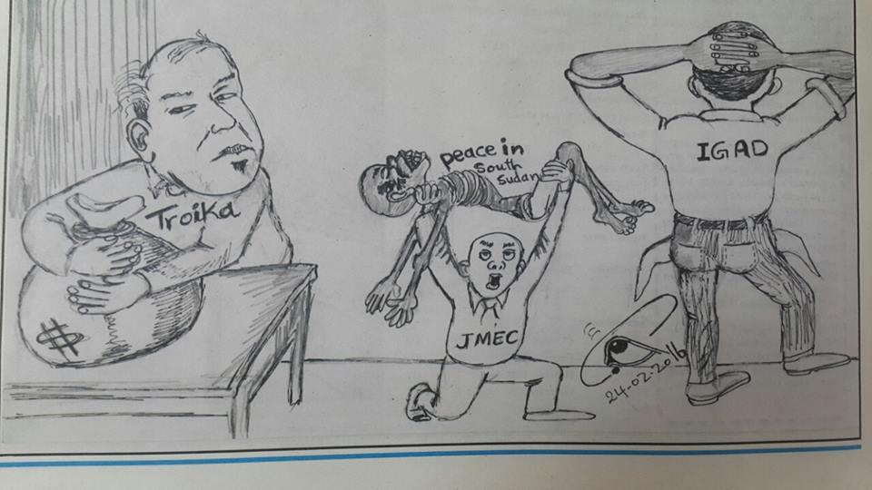 jmec, troika cartoon