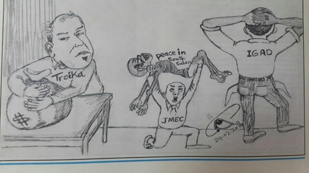 jmec, troika cartoon