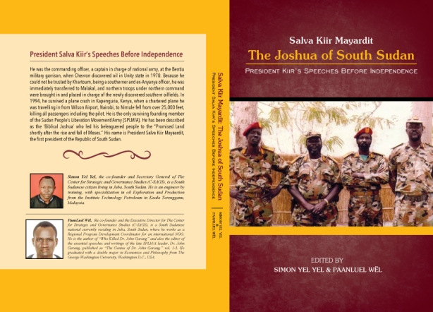 Kiir's speeches before independence, cover