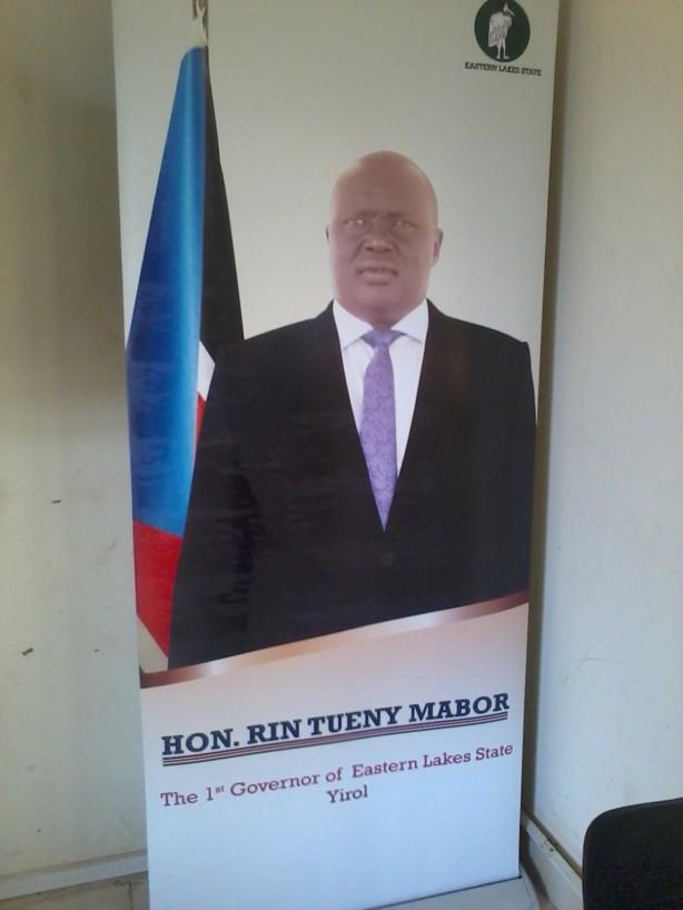 Governor Rin Tueny Mabor