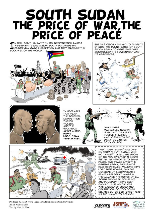 South, price of war, price of peace