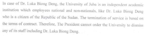 LUKA BIONG A SUDANESE