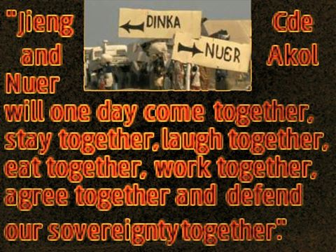 unity of nuer and dinka