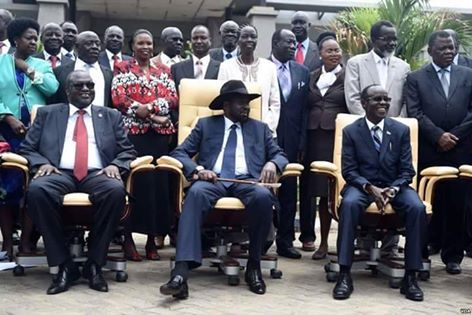 new cabinet of south sudan