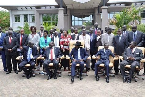 new cabinet of TGoNU