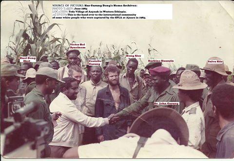 SPLM Founders, Teda Village, Ethiopia