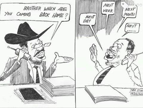 when you coming Riek Machar, said kiir