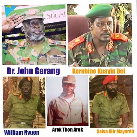 founders of the splm