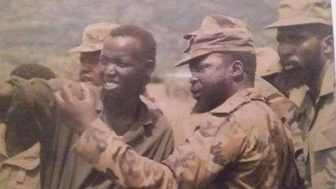 Garang and Kiir