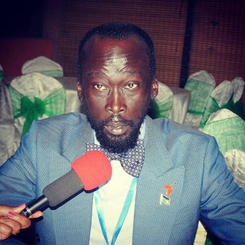 Mabioor Garang, minister for water and irrigation
