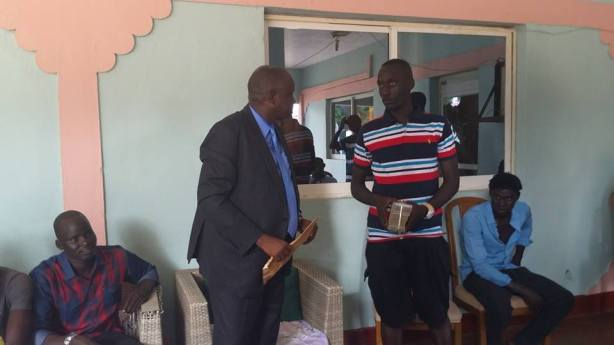 Makiir Gai giving out 100k SSP to South Sudan national team