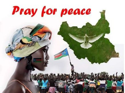 pray for peace in south sudan