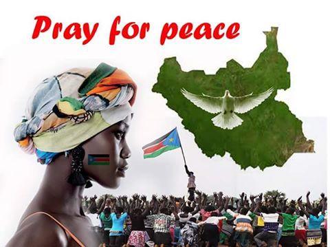pray for peace in south sudan